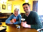 Aunt Jane and Ramsey crush a few pints