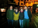 Friday night.  Arndt, Viktoria, Max and Ramsey hit the streets of Freiburg for some wild partying, Black-Forest-style.